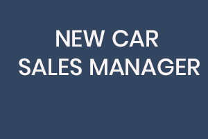 Car Sales Manager Job Vacancy Sign