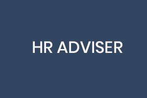 HR Adviser Job Sign