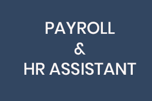 HR & Payroll Job Vacancy Sign